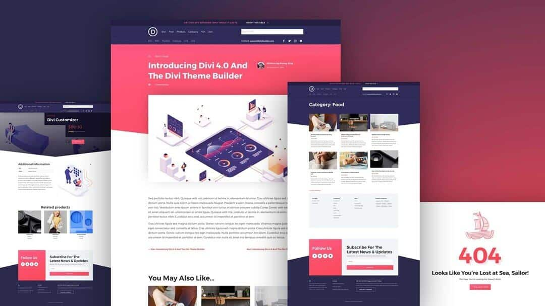 Divi Theme the latest version of 2021 free download