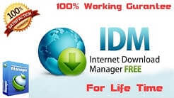 Internet Download Manager IDM Free For Lifetime