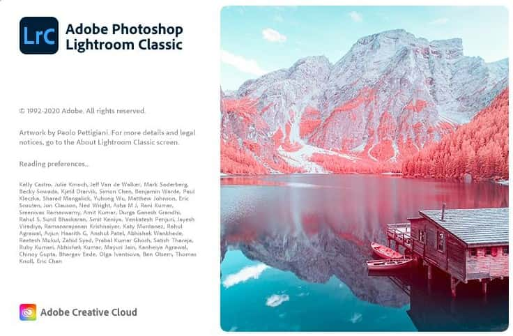 Adobe Photoshop Lightroom Classic 2021