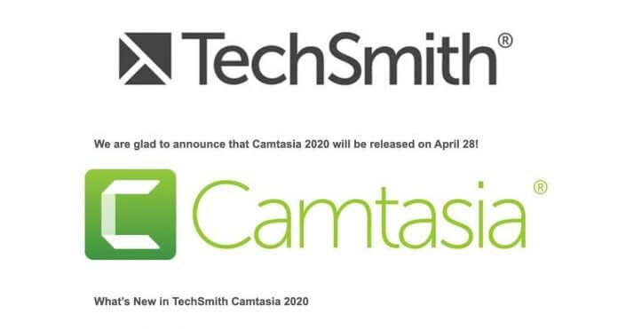 TechSmith Camtasia 2020 Free Download For Lifetime